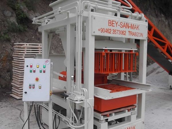BESS concrete brick making machine information