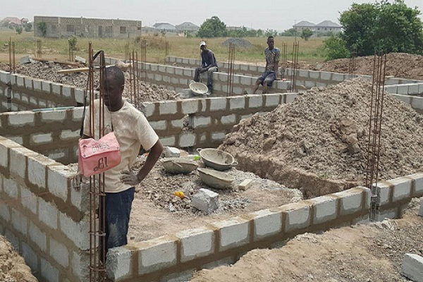 Construction in Ghana
