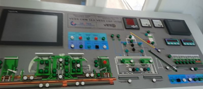 Control Panel for Block Making Machine PLC