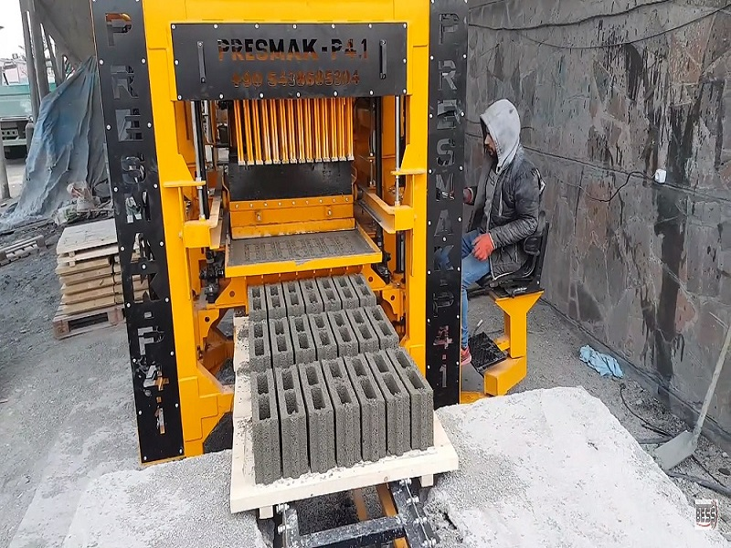 Hollow block making machine in Botswana