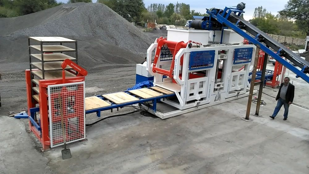 automatic paving block machine plant