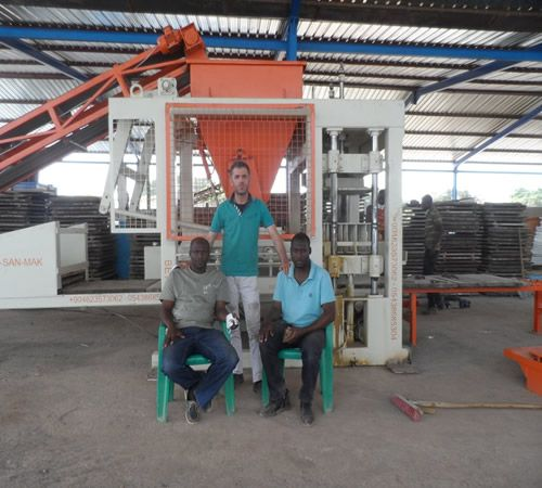 block making machine in Mali concrete block making machine in Mali