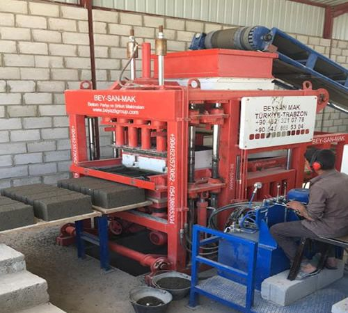 block making machine in Yeman concrete block making machine in yemen