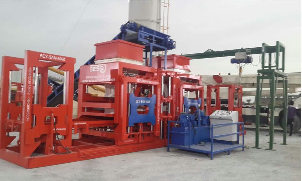 brick making machine complete design