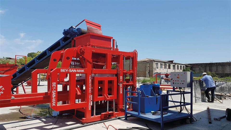 concrete block machine Bess 2