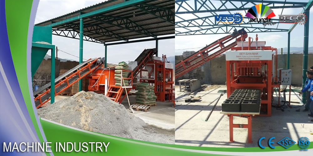 concrete brick making machine for sale