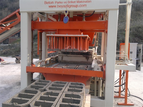 concrete brick making machine information