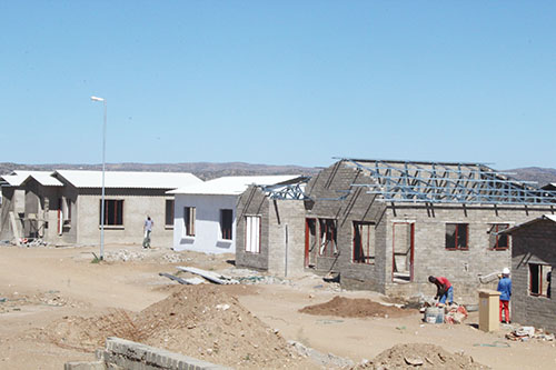 construction in Namibia