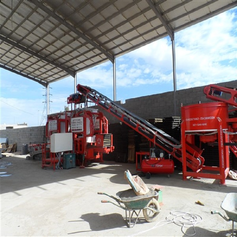 curbstone block making machine in ghana