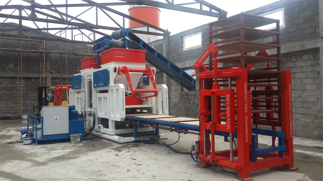 Automatic machine hollow block machine  complete status