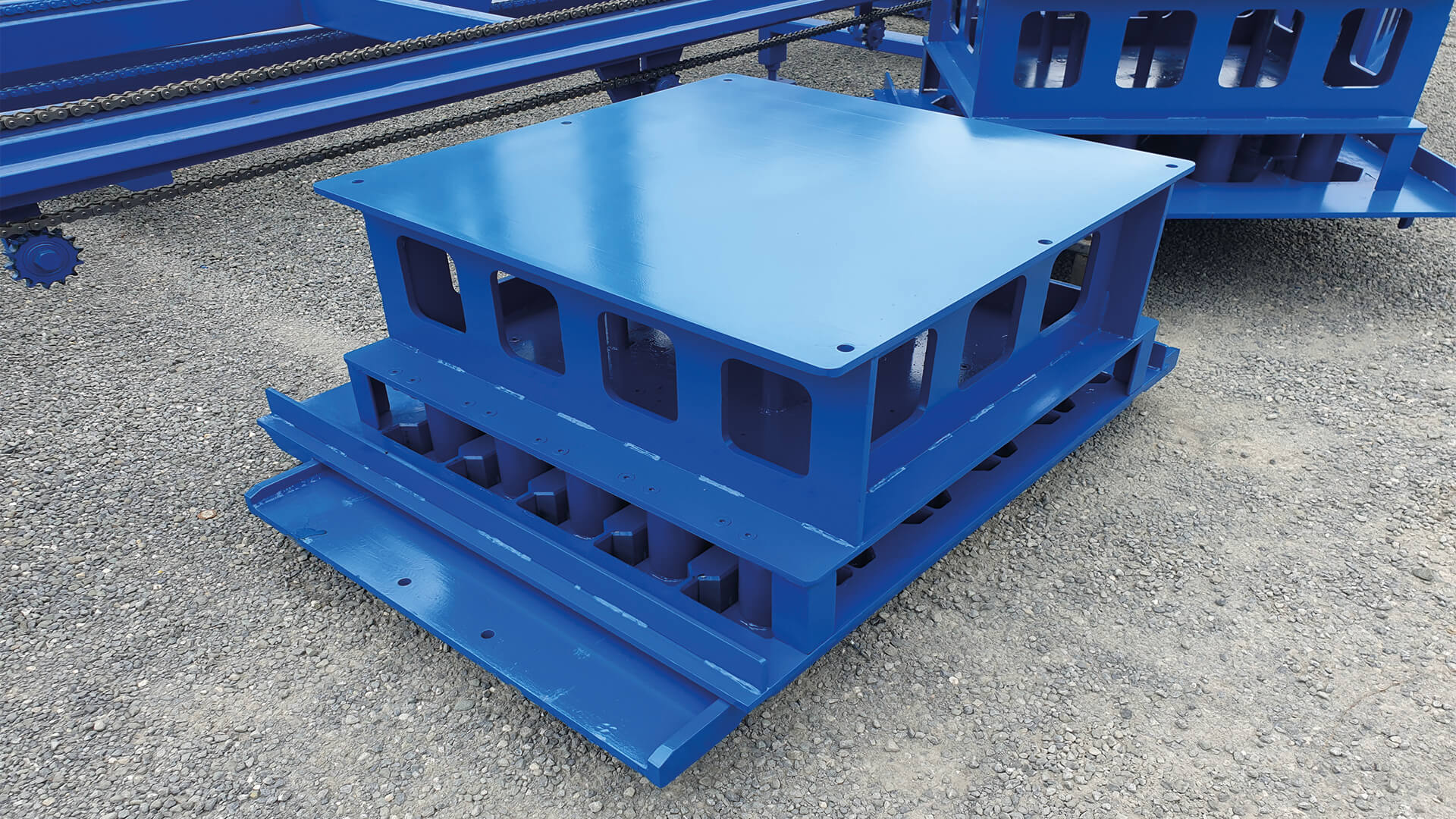hollow block machine molds