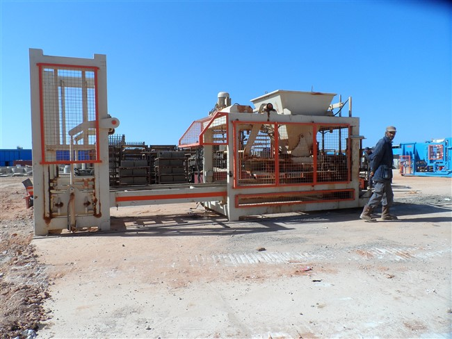 paving block machine-brick blockmachine FINISHED DESIGN