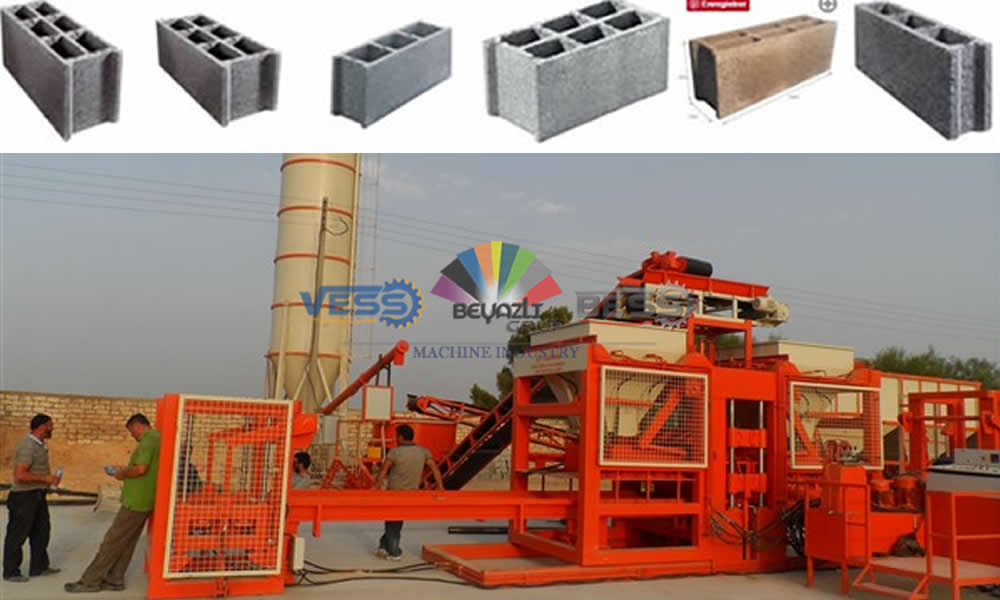 new quality hollow block machine